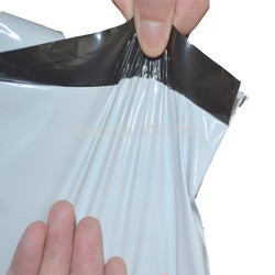 Plain Plastic Courier Bag