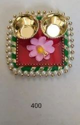Flower kumKum box