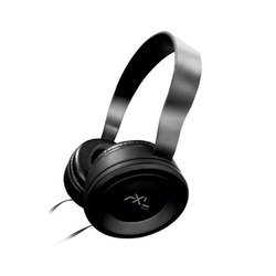 AXL Universal Headphone AHP-01, 1.2 Meter Cable, Mp3 Player, Light weight, HD Sound, Black