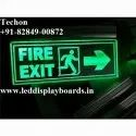 LED Fire Exit Sign Board