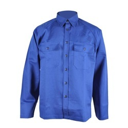 a0f0b39af6d0 OEM 100% Cotton Material Long Sleeve Fire Retardant Work-Wear Shirts