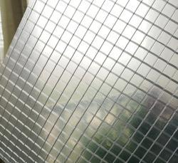 Transparent PVC Mesh Fabric