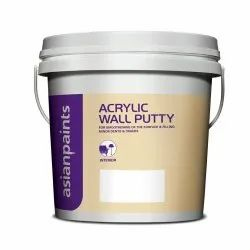 Asian Paints Acrylic Wall Putty, Packaging Type: Bucket, Packing Size: 20 Kg