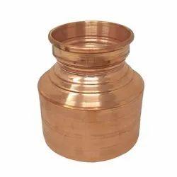 Plain Nutristar Pure Copper Gujarati Pot / Copper Handa, For Home