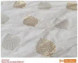 Nylon Dyeable Jari Jacquard Fabric