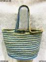 Designer Jute & Cotton Handbag