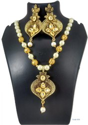 Golden Fancy Necklace Yash-036