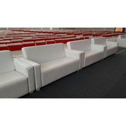 White Banquet Hall Sofa