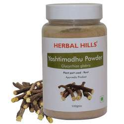 Ayurvedic Yashtimandhu Powder 100gm - Cough & Cold, Immunity Booster
