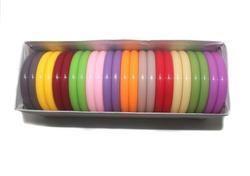 Beadsnfashion Acrylic Colorful Bangles