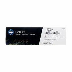 HP 128A 2 Pack Black Original LaserJet Toner Cartridge