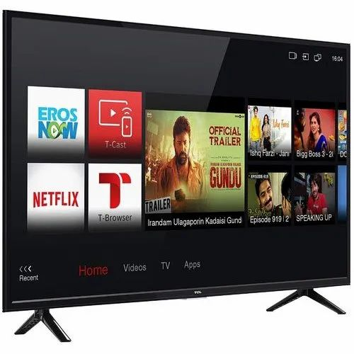 Black 43p65us Tcl Smart Led Tv Resolution 3840 X 2160 Pixels Screen Size 43 Inches Rs 29500 Unit Id 21941816197