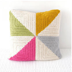 Printed Woolen Cushion Cover