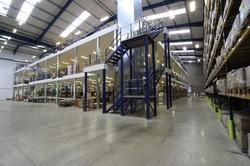 Mezzanine Floors for Industrial Plants
