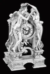 Clock With Couple (Roman Art)