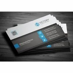 Text Printing Paper Visiting Card Printing Service, Size: 90 X 53 Mm, In Thrissur, Kerala