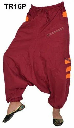837cb4c7e91f Designer Cotton Alibaba Genie Harem Pants Boho Gypsy Trousers ...
