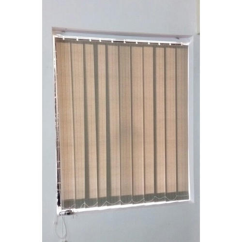 Office window blinds Living Room Brown Fibre Office Window Blinds Global Sources Brown Fibre Office Window Blinds Rs 60 square Feet Vrdecor India