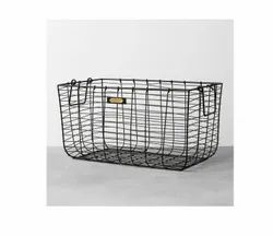 Storage Basket Customization Metal