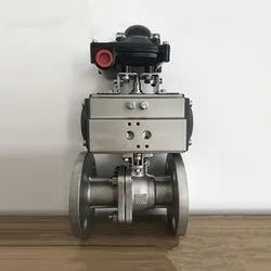 SVR Double Acting Ball Valve, Size: 1/2 To 12