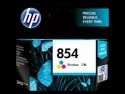 Hp 854 Tri-Color Original Ink Cartridge (C9361ZZ)