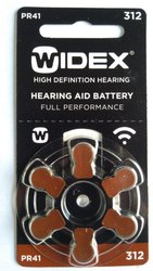 Widex 312 Hearing Aid Battery