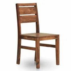 AbodeStyle Brown Wooden Chair, Size: 46 (l) X 52 (w) X 96 (h) Cm