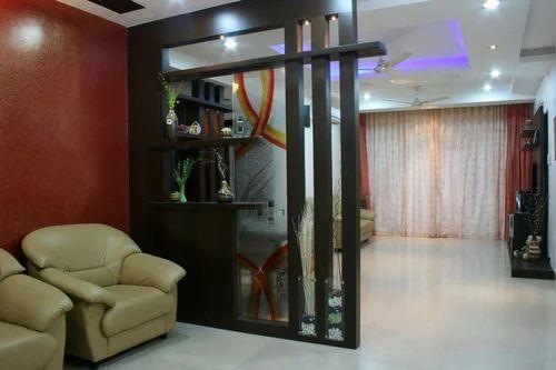 Designer Living Room TV Stand U0026 Wooden L Shape Cabinets Architect /  Interior Design / Town Planner From Hyderabad
