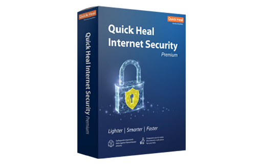Quick Heal Antivirus Internet Security, 10 PCs,3 Years