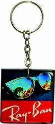 Acrylic Key Chain (Ray Ban) Metalic