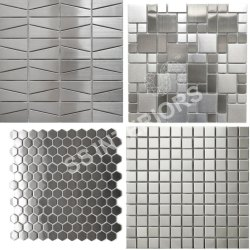 SS Tile, Size: Medium, Thickness: 6 - 8 mm