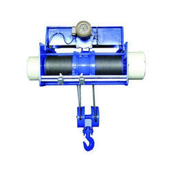 Wire Rope Hoists - Electric Wire Rope Hoist Manufacturer from Ahmedabad