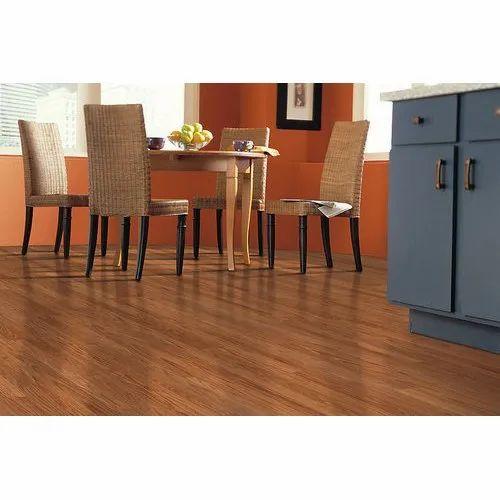 Brown Termite Proof 8 mm Solutia Wood Laminate Flooring, Thickness: 8-25 Mm ,application Areas: Floor