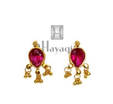 49aa98b11 Hayagi T5956 Maharashtrian Earrings Panadi Saaj Tops, Rs 150 /pair ...