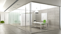 Demounted Glass Partition