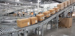 SS Pharma Packaging Conveyor