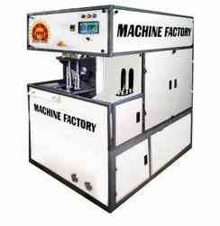 Oil Bottle Blowing Machine Compact Semi Automatic