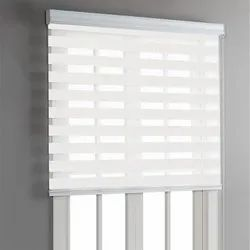 PVC(Frame) Manual Curtain Blind, For Home, Office