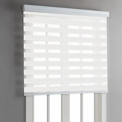 PVC(Frame) Manual Curtain Blind, For Home,Office