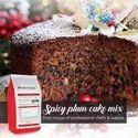Premix Brown Swissbake Plum Cake Mix, For Bakery, Packaging Size: 5 Kg Bag