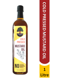 Cold Pressed Mustard Oil, Packaging Size: 1 Litre, Packaging Type: Bottle
