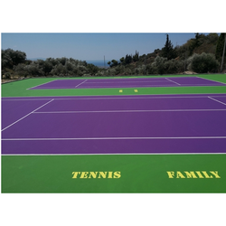 Outdoor Sports Flooring, 1 Year, 3.5mm