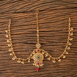 Antique Gold Plated Classic Damini 203556