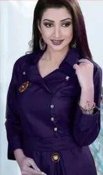Ladies Designer Purple Kurti