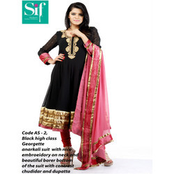 Designer Georgette Anarkali Suits