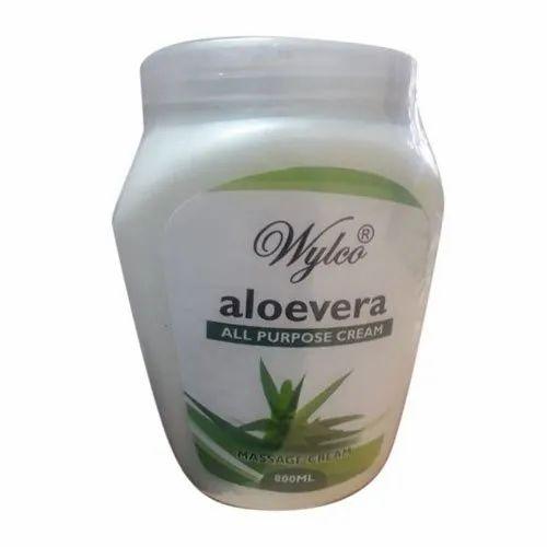 Wylco Aloe Vera Massage Cream, Pack Size: 800ml