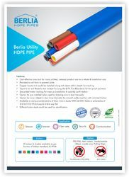 Berlia Utility HDPE Pipe