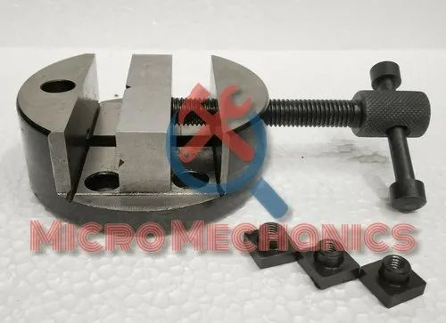 """FIXED VERTICAL MILLING SLIDE 4/"""" X 5/"""" WITH 2/"""" SELF CENTERING VICE /& FIXING T-NUTS"""