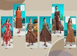 Designer Stylish Rayon Kurtis