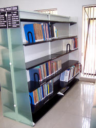 Acrylic Library Shelves